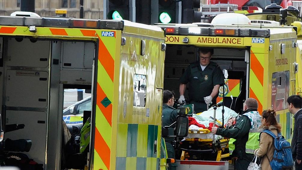Rettungswagen in London