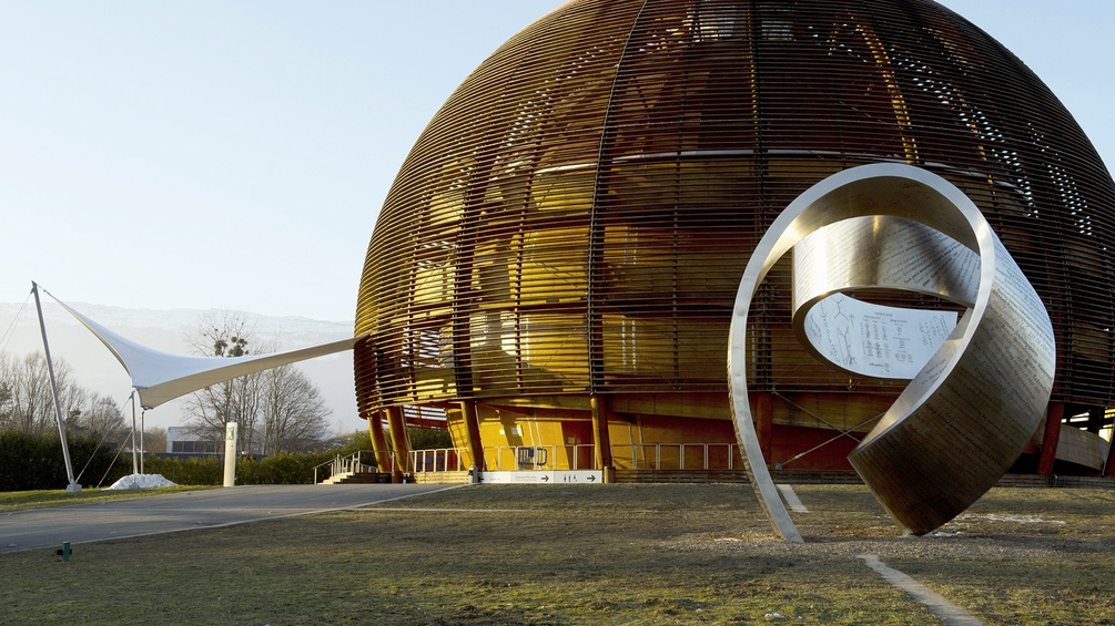 Globe of Science and Innovation in Cern