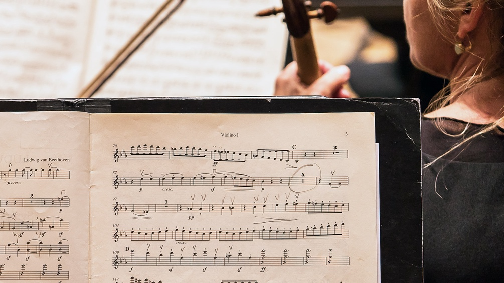 Noten, RSO-Orchester