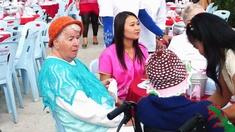 Ältere Menschen in Thailand