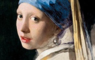 Buchcover-Ausschnitt, Das Mädchen mit dem Perlenohrring als Fälschung