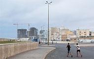 Jogger in Casablanca