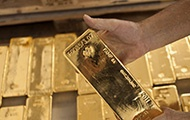 Goldbarren aus der Schweiz