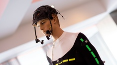 Motion capture suit 'Moca suit'