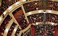 Burgtheater Zuschauerraum von oben