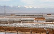 Solarkraftwerk in der Nähe von Ouarzazate, Marokko
