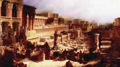 """The Israelites Leaving Egypt"" von David Roberts"