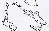 Vögel, gezeichnet von Ironimus
