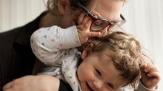Julia Pichler mit Tochter