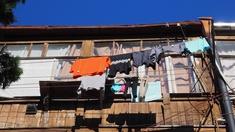 Wäsche an der Leine, Tiflis