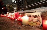 Kerzen nach dem Hebdo-Anschlag