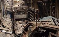 Zertrümmertes Aleppo