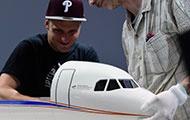 Flugmodell auf der ILA