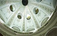 Kuppel im Michaelertrakt der Wiener Hofburg