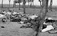 Getötete armenische Flüchtlinge