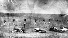 Archivaufnahme aus dem Jahr 1916; armenische Opfer
