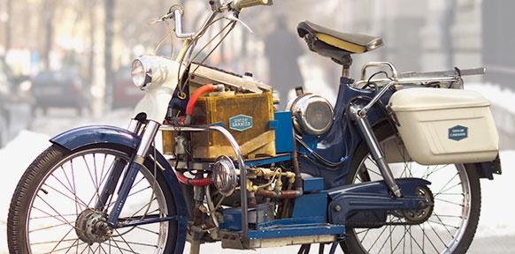 Brennstoffzelle Moped