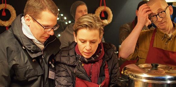 Gunkl mit Christof und Barbara Riedl-Daser