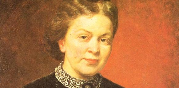 Bildnis einer Frau mit roten Lippen