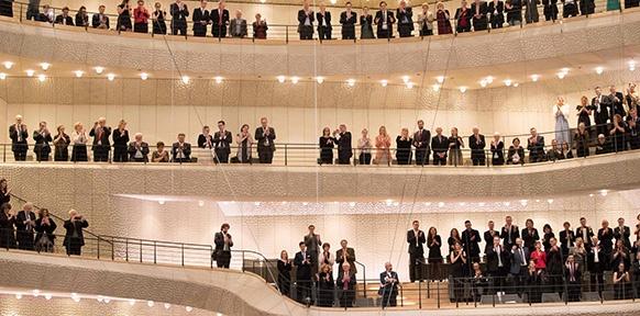 Publikum in der Elbphilharmonie