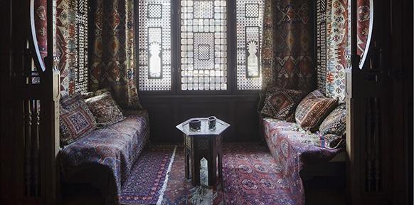 Arabisches Zimmer, um 1900
