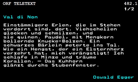 """Screenshot des Gedichts """"Val di Non"""""""
