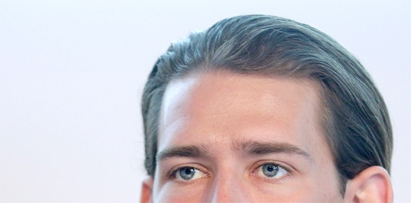 Sebastian Kurz' Augen