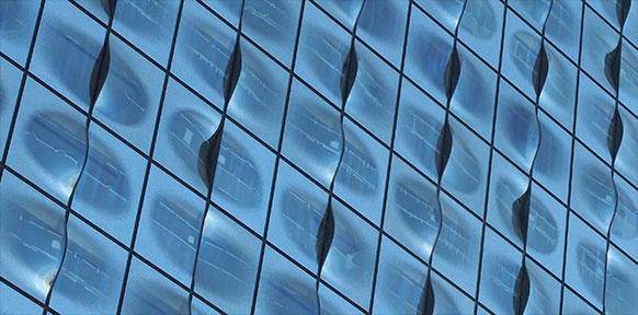 Oberfläche des Gebäudes