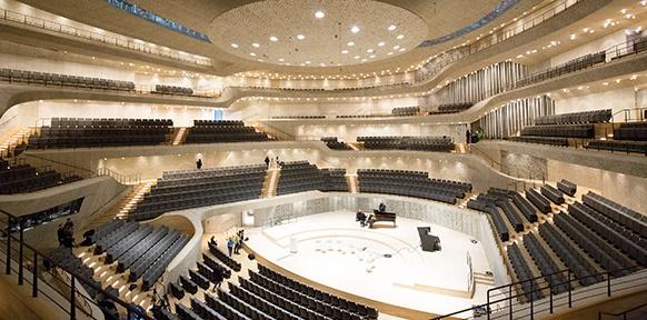 Der Große Saal in der Elbphilharmonie
