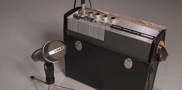 Tonbandgerät Uher 4200 Report Stereo, Uher-Werke München, 1967
