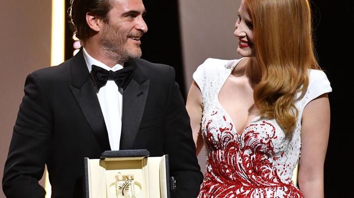 Joaquin Phoenix und Jessica Chastain