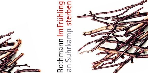 Weißes Buchcover mit braunen Zweigen