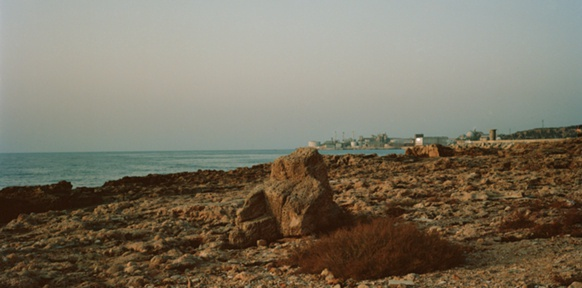 Strand im Libanon