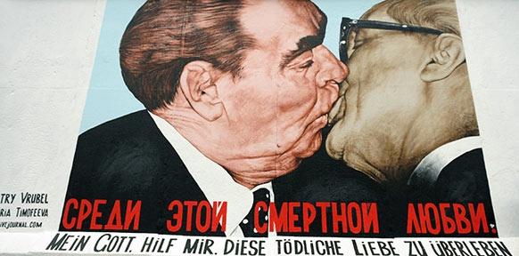 erich honecker kuss