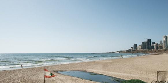 Strand in Beirunt
