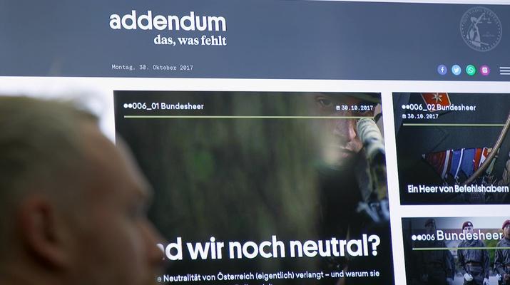 Screenshot von Addendum, Niko Alm