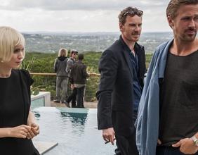 Rooney Mara, Michael Fassbender und Ryan Gosling