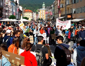 Demonstration in Innsbruck