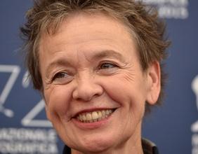 Laurie Anderson beim Filmfestival von Venedig, 2015