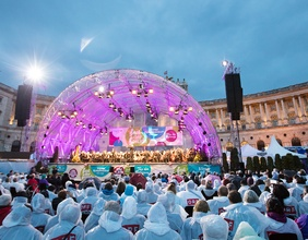 Bühne am Heldenplatz