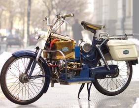 Altes Motorrad