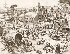 Der Jahrmarkt von St. Georg, um 1559