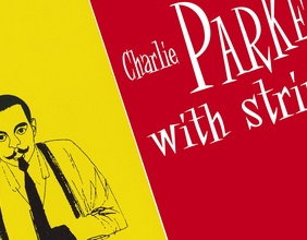 """Charlie Parker with Strings"", Ausschnitt Plattencover"