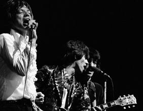 Mick Jagger, Keith Richards und Bill Wyman