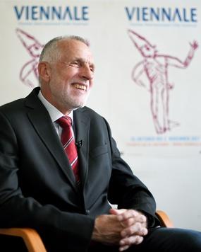 Viennale-Direktor Franz Schwartz