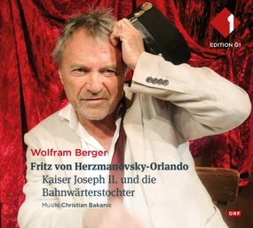 CD Cover mit Wolfram Berger