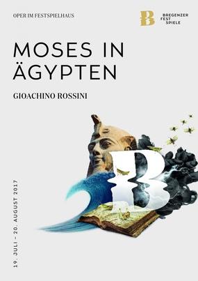 Plakatmotiv, Moses in Ägypten