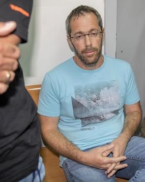 Tal Silberstein bei der Festnahme in Israel.