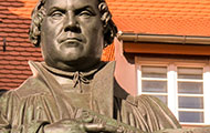 Martin-Luther-Statue in Wittenberg