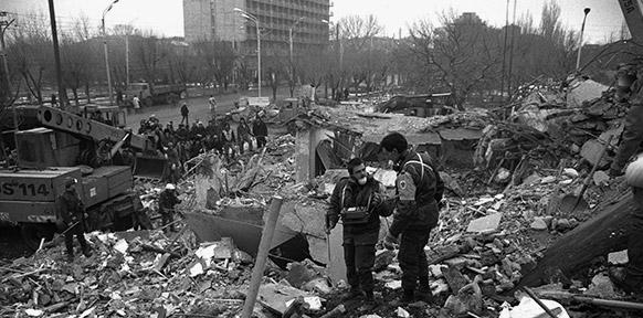 Armenien nach dem Erdbeben, Archivaufnahme